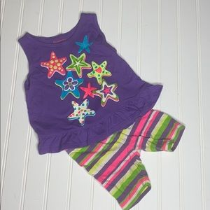 Toddler tank and shorts set